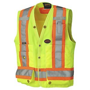PIONEER - HI-VIZ SURVEYOR'S SAFETY VEST